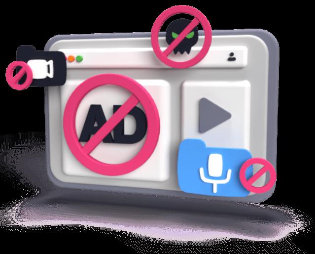 Fast ad-blocking VPN