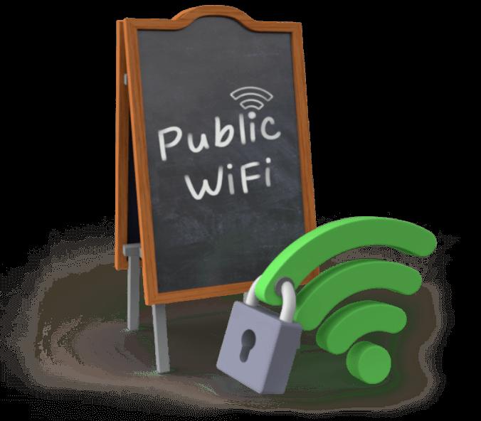 Bezpieczeństwo w publicznej sieci wifi