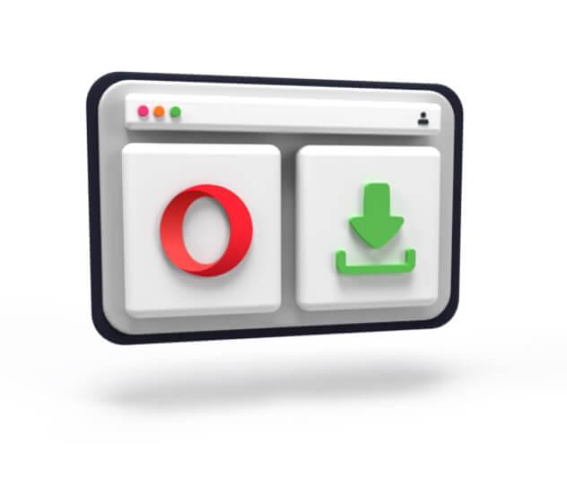 在 Opera 浏览器上下载 pia vpn