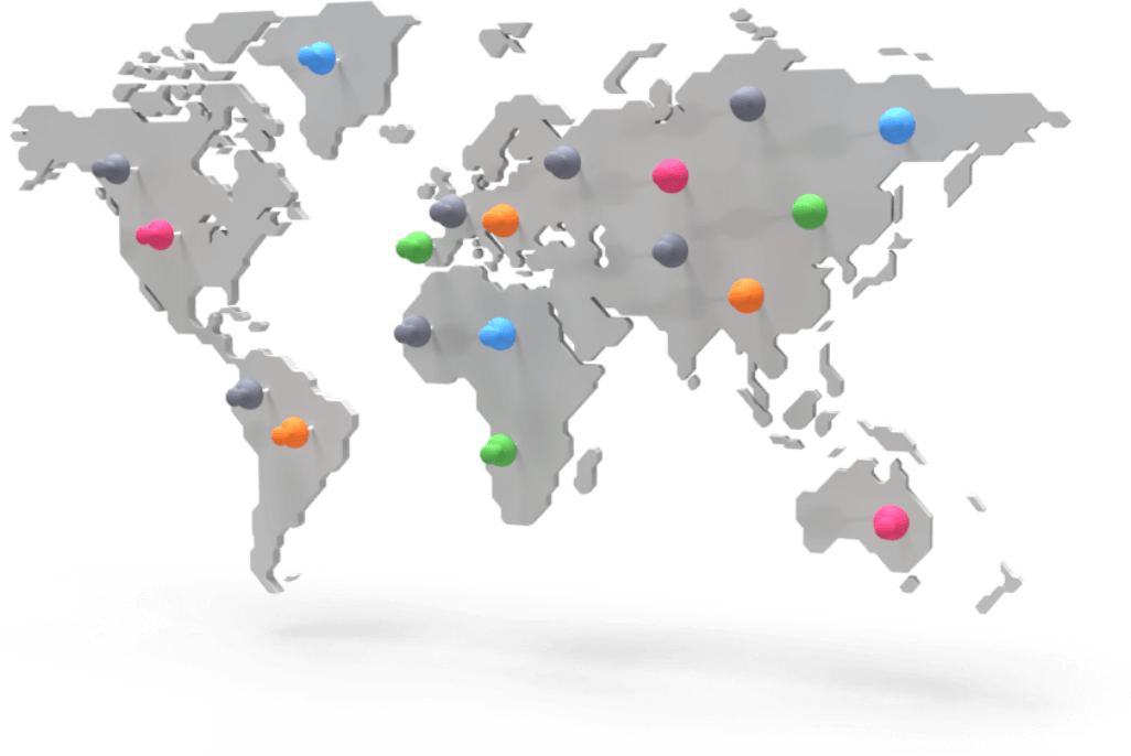 World-class servers worldwide